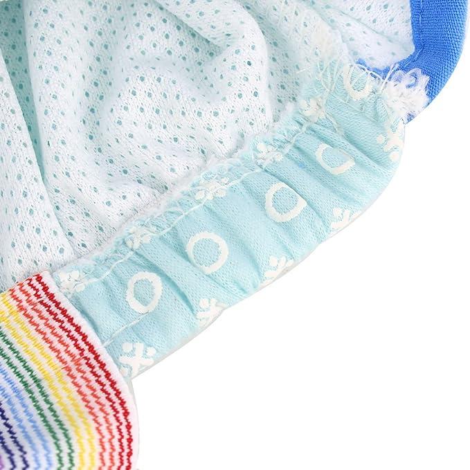 Amazon.com : eDealMax Mezclas de algodón Para mascotas Puntos Sanitaria bragas de la ropa Interior del perrito del perro del pañal Pantalones XL Azul : Pet ...