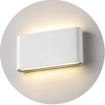 Topmo-plus 12w lámpara de pared LED impermeable IP65 moderno apliques aluminio apliques llevó exterior