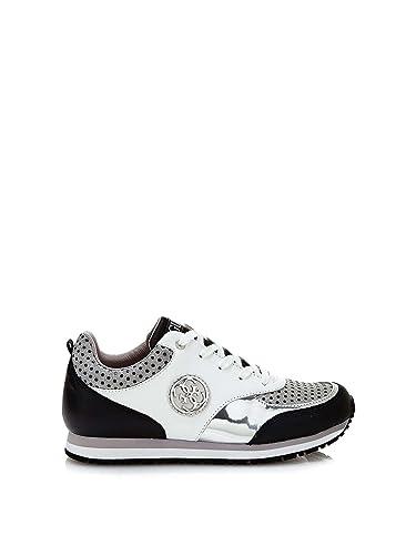 b869347d29 Guess Sneakers Reeta Noir: Amazon.co.uk: Shoes & Bags