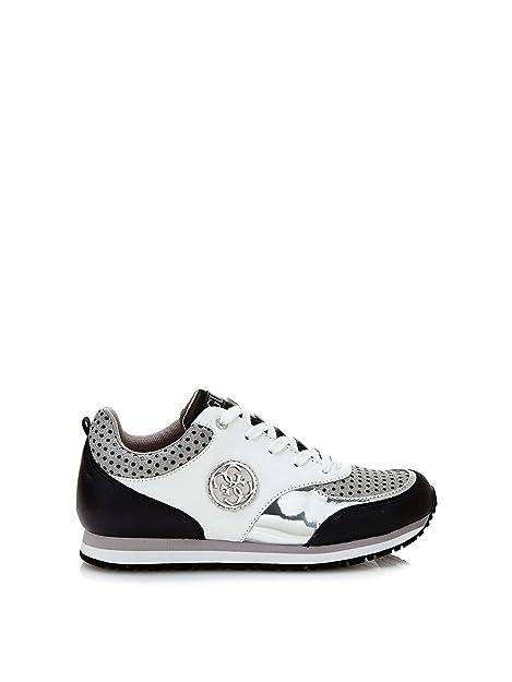 Calzado deportivo para mujer, color Negro , marca GUESS, modelo Calzado Deportivo Para Mujer GUESS FLRET1 LEA12 Negro: Amazon.es: Zapatos y complementos