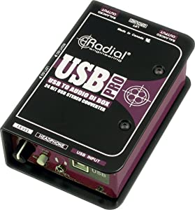 Radial Engineering USB-Pro Stereo USB Laptop DI
