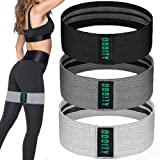 Oddity Booty Bands- Premium Fabric Resistance Bands- Set of Three with Varied Resistance Levels and Travel Bag