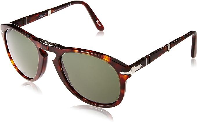 Persol - Occhiali da sole Mod. 0714 Sole Aviatore, 24/31, Taglia 54:  Amazon.it: Abbigliamento