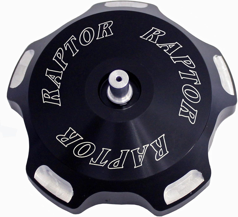 Modquad Gas Cap Aluminum Logo Black for Yamaha Raptor 700R