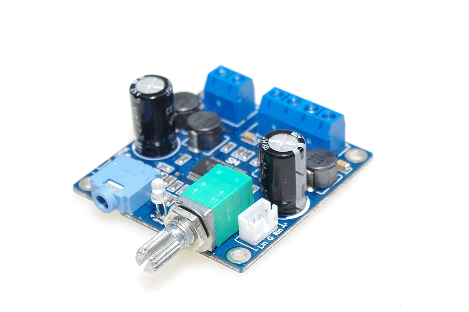 Smakn Tpa3118 Numeric 12v Power Amplifier Board How To Build 60w 8 Finished With Switch Potentiometer Parallel Mono Musical Instruments