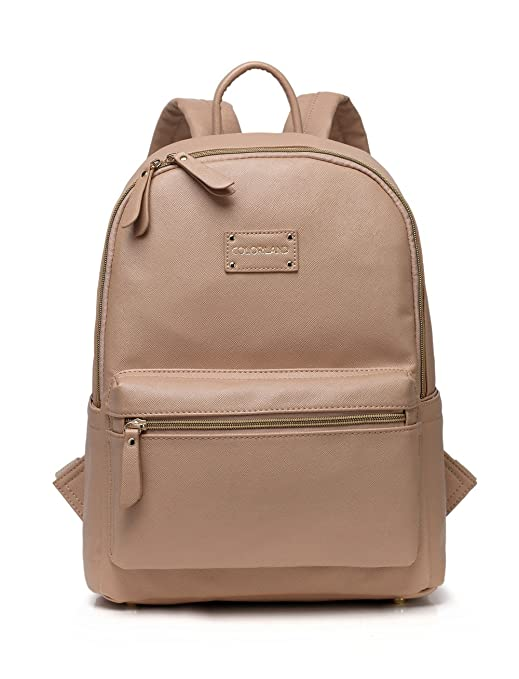 Colorland Leather Diaper Bag Backpack. Our Vegan Leather Diaper Bag Was Crafted For The Fashionable Mom Who Wants A Small, Lightweight Diaper Backpack Option That Fits Everything. Designed By Real M by Colorland
