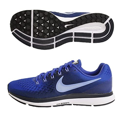 new products 2f43a 0ba36 Nike Air Zoom Pegasus 34, Scarpe Running Uomo, Multicolore (Hyper Royal  Pulse