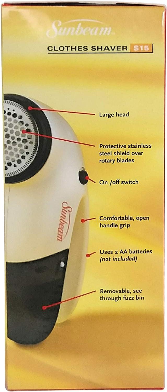 SUNBEAM S15 - Afeitadora de Ropa: Amazon.es: Hogar
