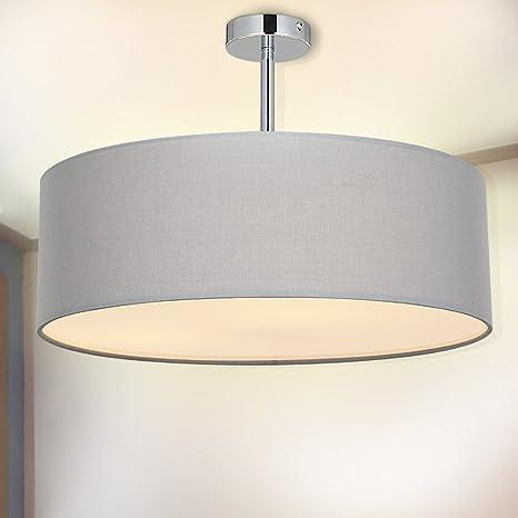 Amazon Com Ceiling Light Semi Flush Spakrsor Modern Fabric Pendant