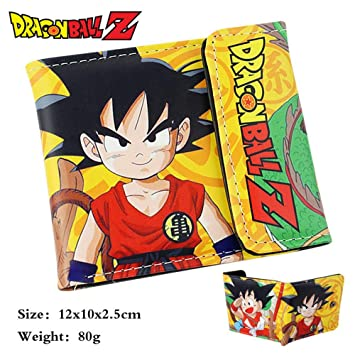 SWVV Hombre y Mujer Unisex Anime Paquete de Tarjetas Billetera Dragon Ball Sun Wukong Short Wallet A: Amazon.es: Equipaje