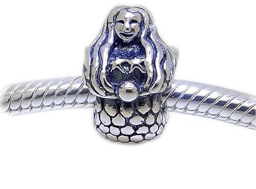 Original Trollbeads Meerjungfrau 925 Silber Mermaid
