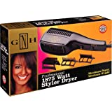 Gold N Hot Gh2275 Professional 1875 Watt Styler Dryer with Comb Attachments