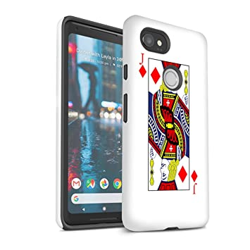 Stuff4®®®®®®® - Funda para móvil GG-3DTBM Karo-Bube Google Pixel 2 ...
