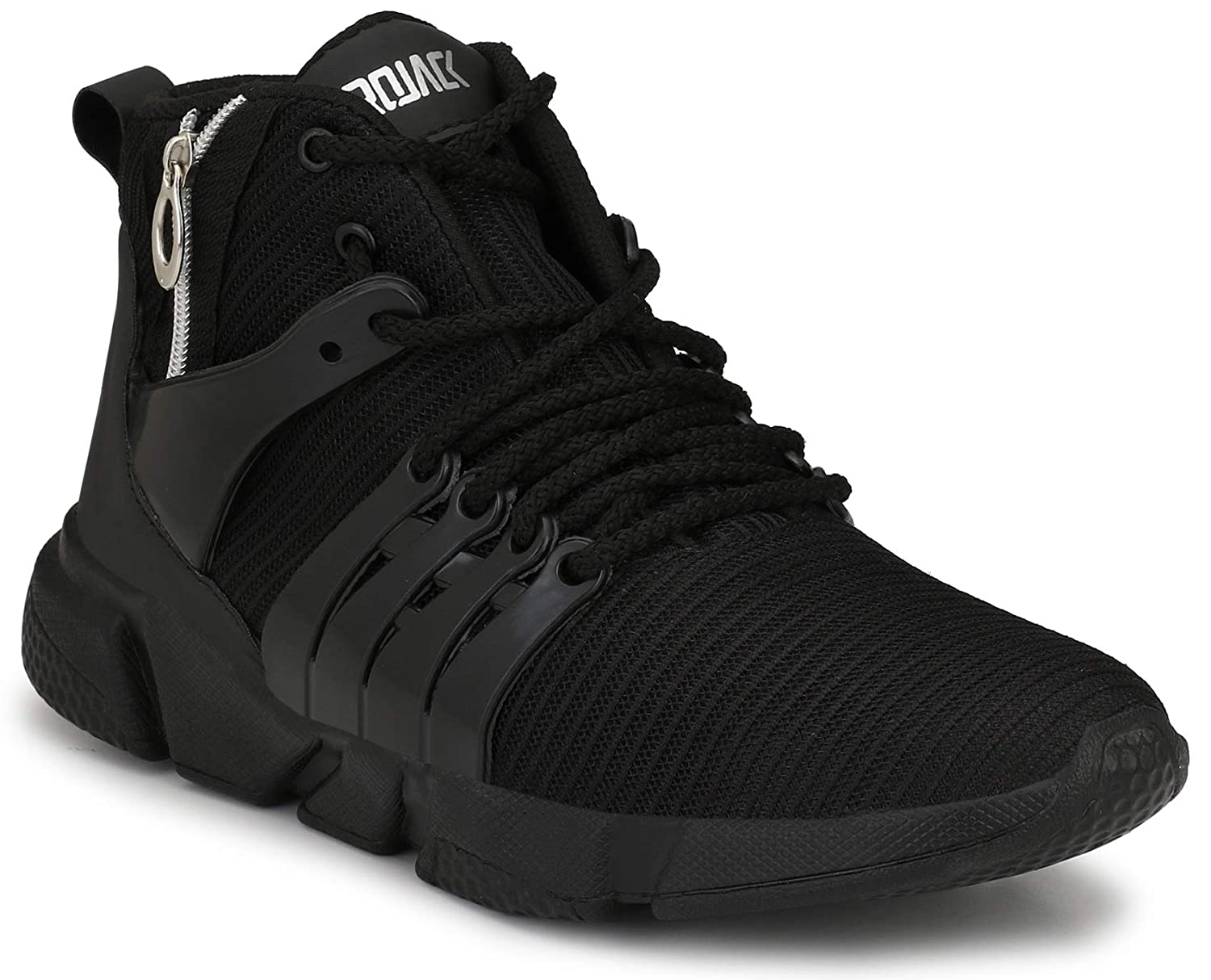quality design 07698 f9dad AFROJACK Men s Air Zip Mesh Running Shoes Trainers Gym Shoes  Buy Online at  Low Prices in India - Amazon.in