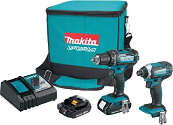 Refurb 2-Piece Makita 18-volt LXT Lithium-Ion Compact Cordless Combo Kit