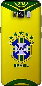 جراب منتخب البرازيل من ColorKing لهاتف Samsung S8