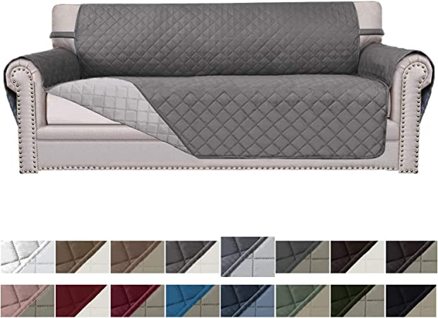 Amazon.com: Easy-Going Sofa Slipcover Reversible Sofa Cover ...