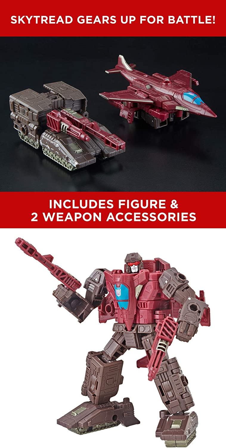 Transformers Generations War for Cybertron Siege Deluxe Class Wfc-S7 Skytread Action Figure