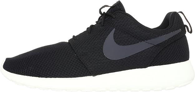 Nike Rosherun, Zapatillas ~Hombre^Mujer, Negro (Black Mesh), 44 EU: Amazon.es: Zapatos y complementos