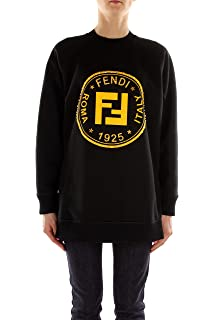 Fendi Sweat-Shirts Femme - Coton (FAF069A49JF0GME)  Amazon.fr ... 043ee70ed2b