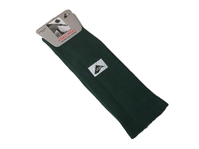 6 pares de medias hasta la rodilla para niñas, escuela, calcetines altos, 80% algodón, 7 colores, 4 tamaños: Amazon.es: Ropa y accesorios