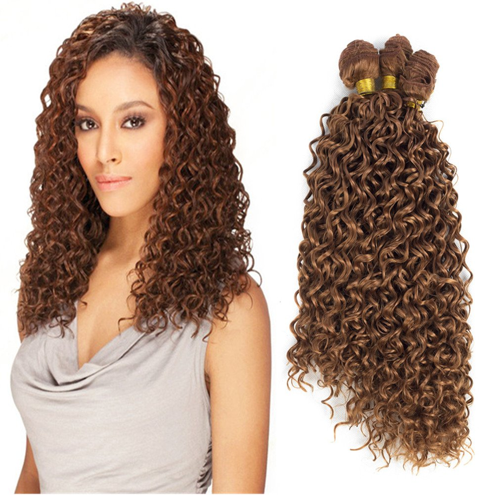 Amazon Mtmei Hair 3pcsbundle 16inch 18inch 20inch Synthetic