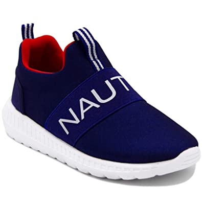 9bc8c966a34 Nautica Kids Boys Slip On Sneaker Comfortable Running Shoes - Little  Kid/Big Kid