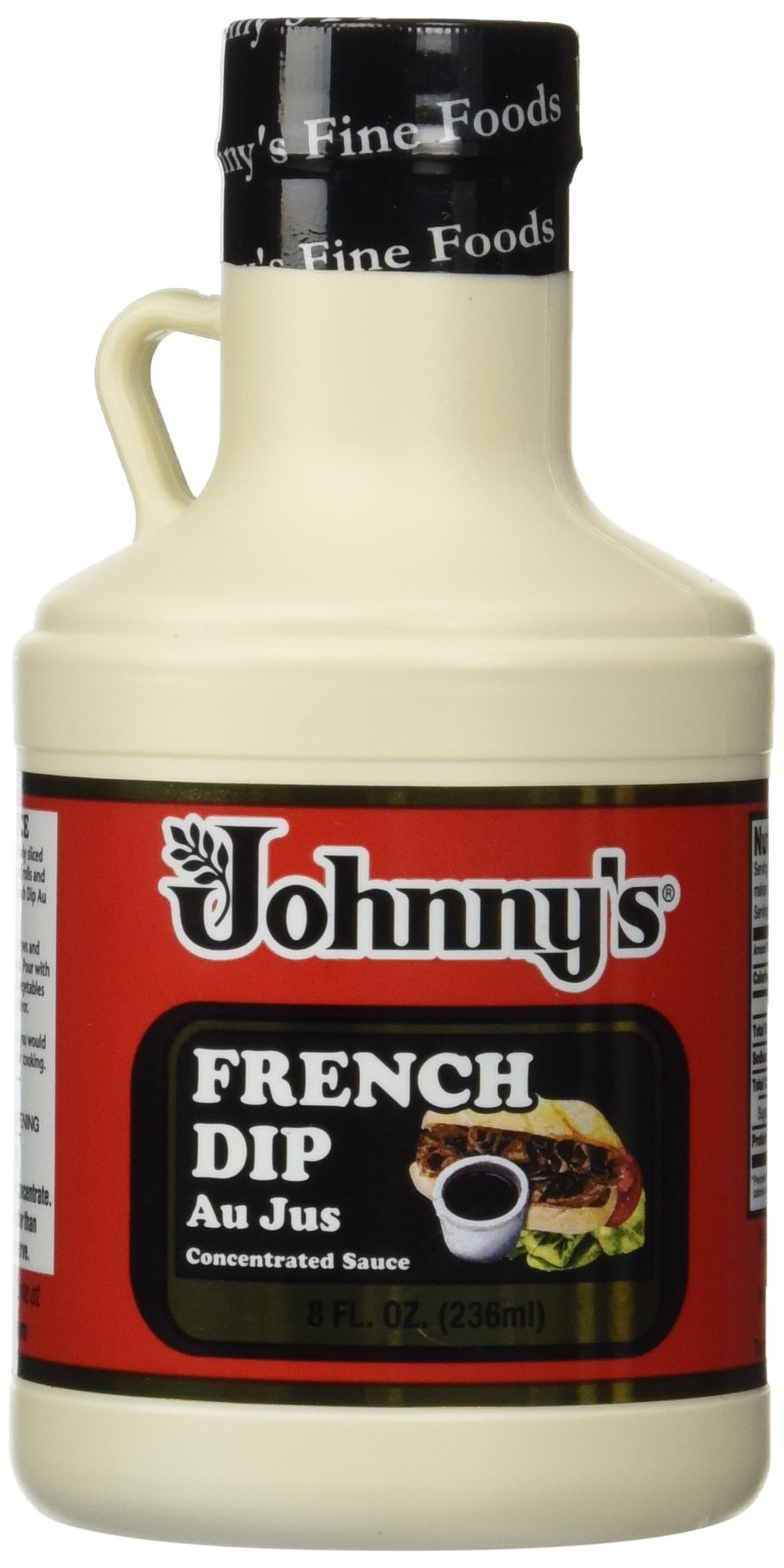 Johnnys Fine Foods Au Jus Frnch Dip, 8 Fl Oz, Pack of 2
