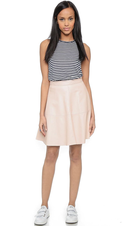 ee9d378ccf Amazon.com: Joie Women's Decollete Leather Skirt, Soft Sand, Medium:  Clothing