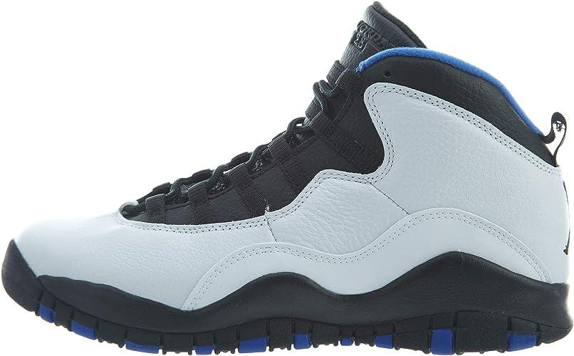 best website discount sale presenting Jordan Jordan310806-108 - Nike Air 10 Retro GS Kids White/Black ...