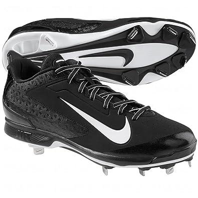 Nike Men\u0027s Air Huarache Pro Baseball Cleat Black/White Size 10.5 ...