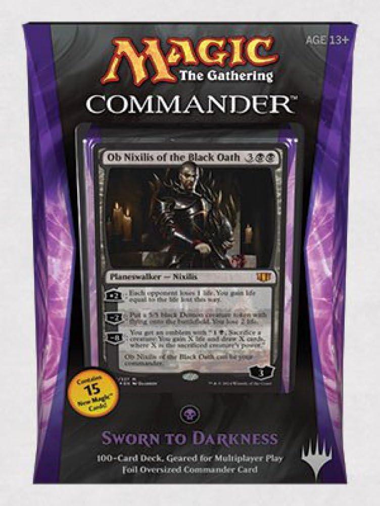 Magic The Gathering Commander 2014 Sworn to Darkness Deck