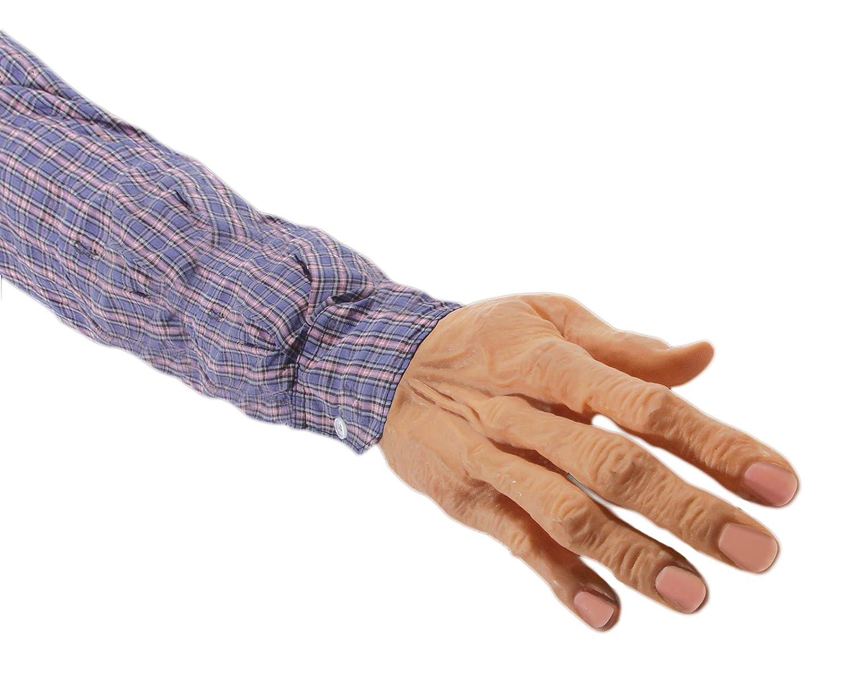 Loftus International Loftus Ghastly Severed Arm with Sleeve Decoration Prop, Beige Novelty Item