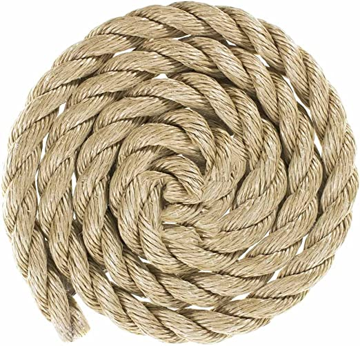 5//8 inch 3//8 inch 5//16 inch 3 Strand Twisted ProManila Polypro Rope Several Lengths PARACORD PLANET 1-1//2 inch 1//2 inch 1-1//4 inch 3//4 inch 2 inch Sizes 1//4 inch