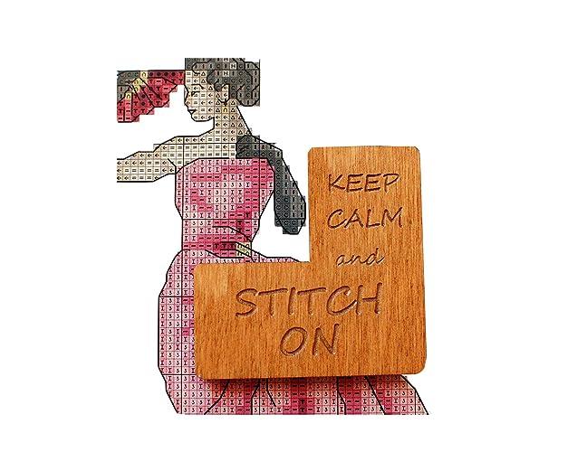 Candy Needle Minder-Candy Cover Minder-Cross Stitch Minder-Fridge Magnet-Needle Nanny-Whiteboard Magnet-Stitching Minder-Brooch Magnet-M/&M