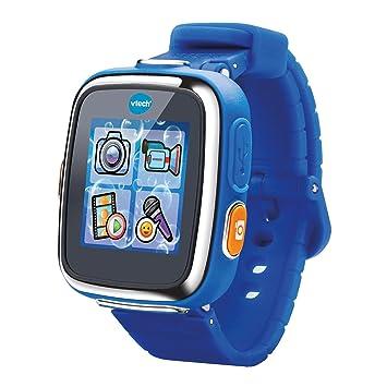 VTech - Kidizoom Reloj Interactivo Connect DX, Color Azul, versión Francesa