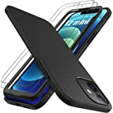 GESMA Compatible for iPhone 12 Mini Case, Scratch Resistant & Anti Slip Grippy Soft TPU Case Compatible for iPhone 12…