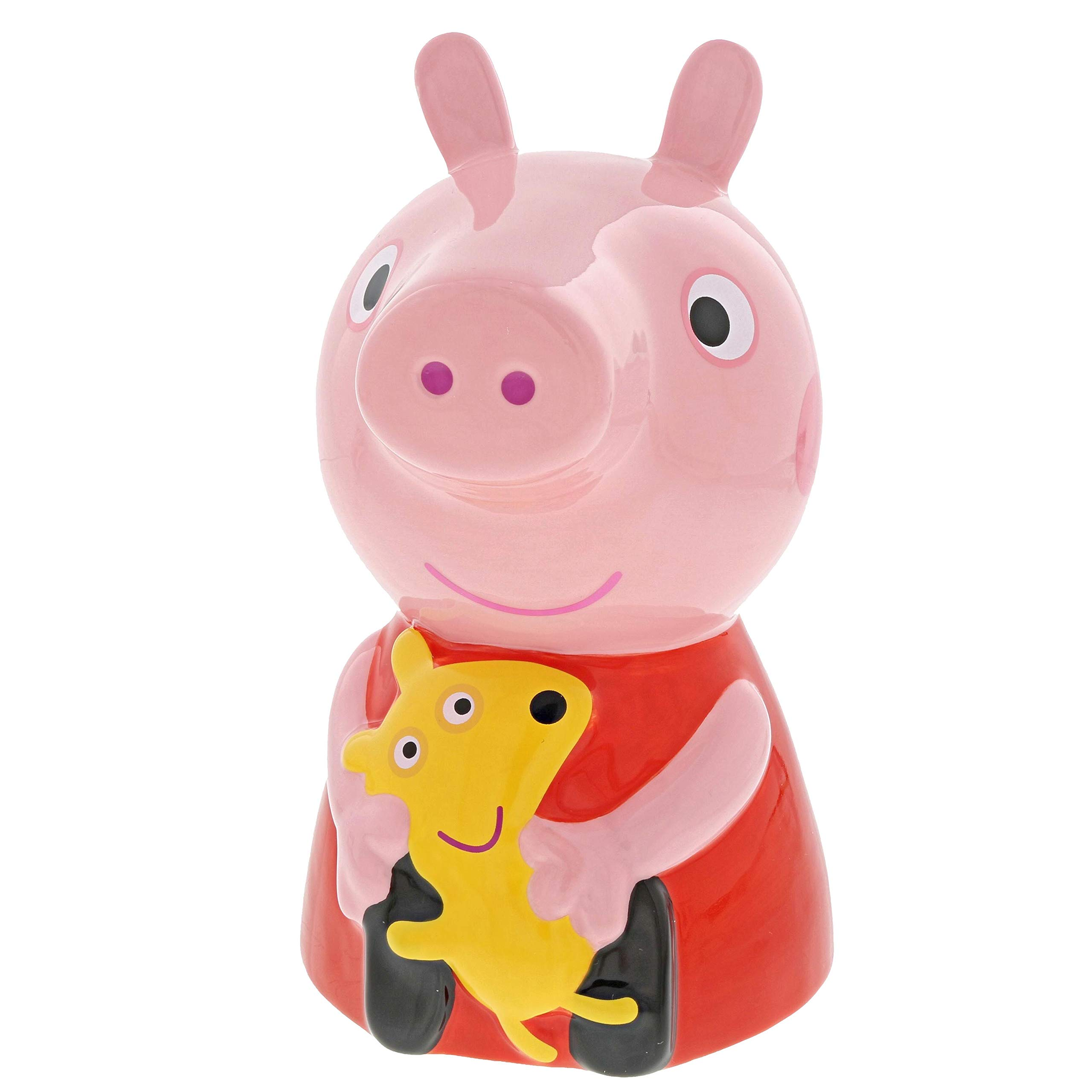 Enesco Peppa Pig Collection A29660 Peppa Pig Ceramic Money Bank A29660 Peppa Pig Ceramic Money Bank by Peppa Pig