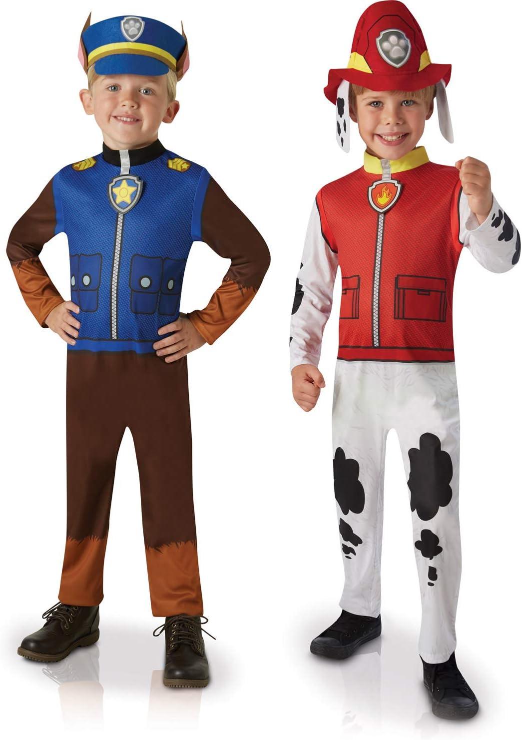 Generique Disfraz dúo clásico Chase y Marcus niño Única: Amazon.es ...