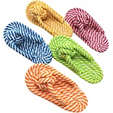 Cheap4uk Shoes Pet Chew Teeth Cleaning Toy ,Safe Durable Cotton Rope for Poppy Dog Fun-Random Color