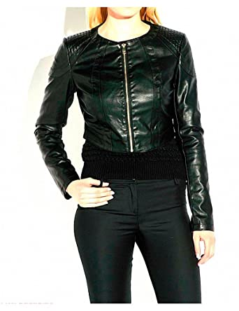 Guess by Marciano Chaqueta Darling - S, Negro: Amazon.es ...
