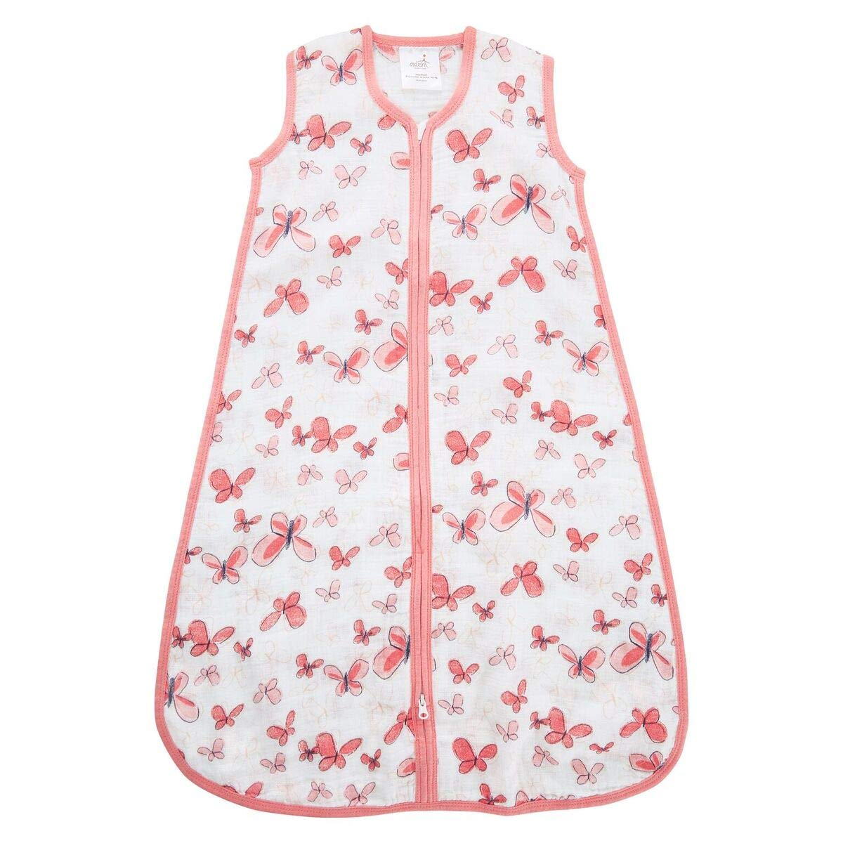 Aden by Aden + Anais Classic Sleeping Bag, 100% Cotton Muslin, Wearable Baby Blanket, Medium, 6-12 Months, Butterflies - Aflutter…
