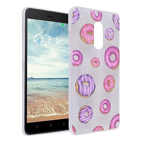 Funda Xiaomi Redmi Note 4, Asnlove Carcasa Transparente Gel ...