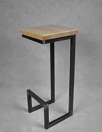Schon Magnetic Mobel® Barhocker Stahl Holz Massiv C Style Barstuhl Industrial  Design Metall Hocker H