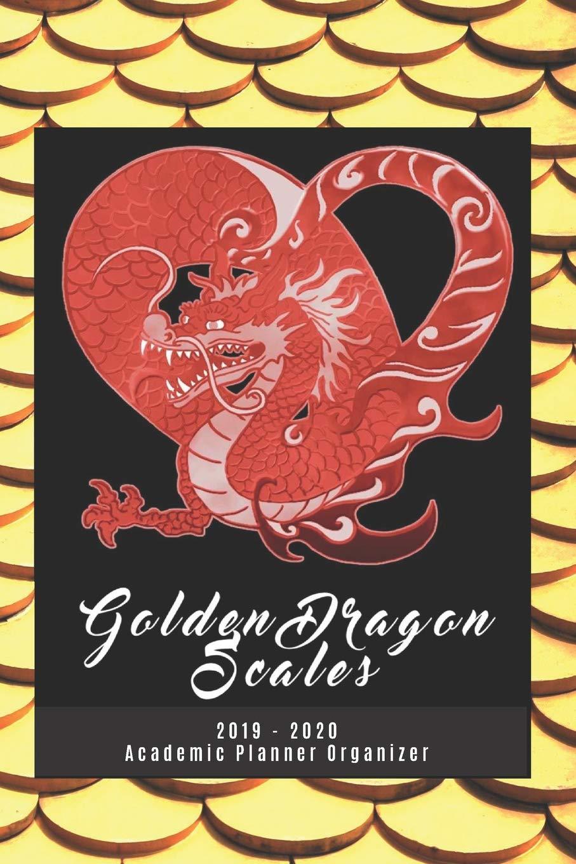 Golden Dragon Scales 2019 - 2020 Academic Planner Organizer ...