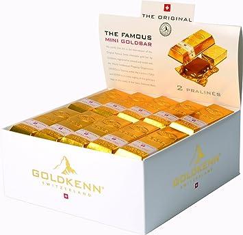 Amazoncom Goldkenn Mini Gold Bar 20 G Pack Of 50