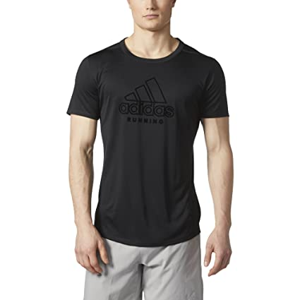 adidas TKO Rev SS M Q3 Camiseta, Hombre, (Negro/Neguti),