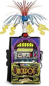 Slot Machine Centerpiece Party Accessory (Value 3-Pack)