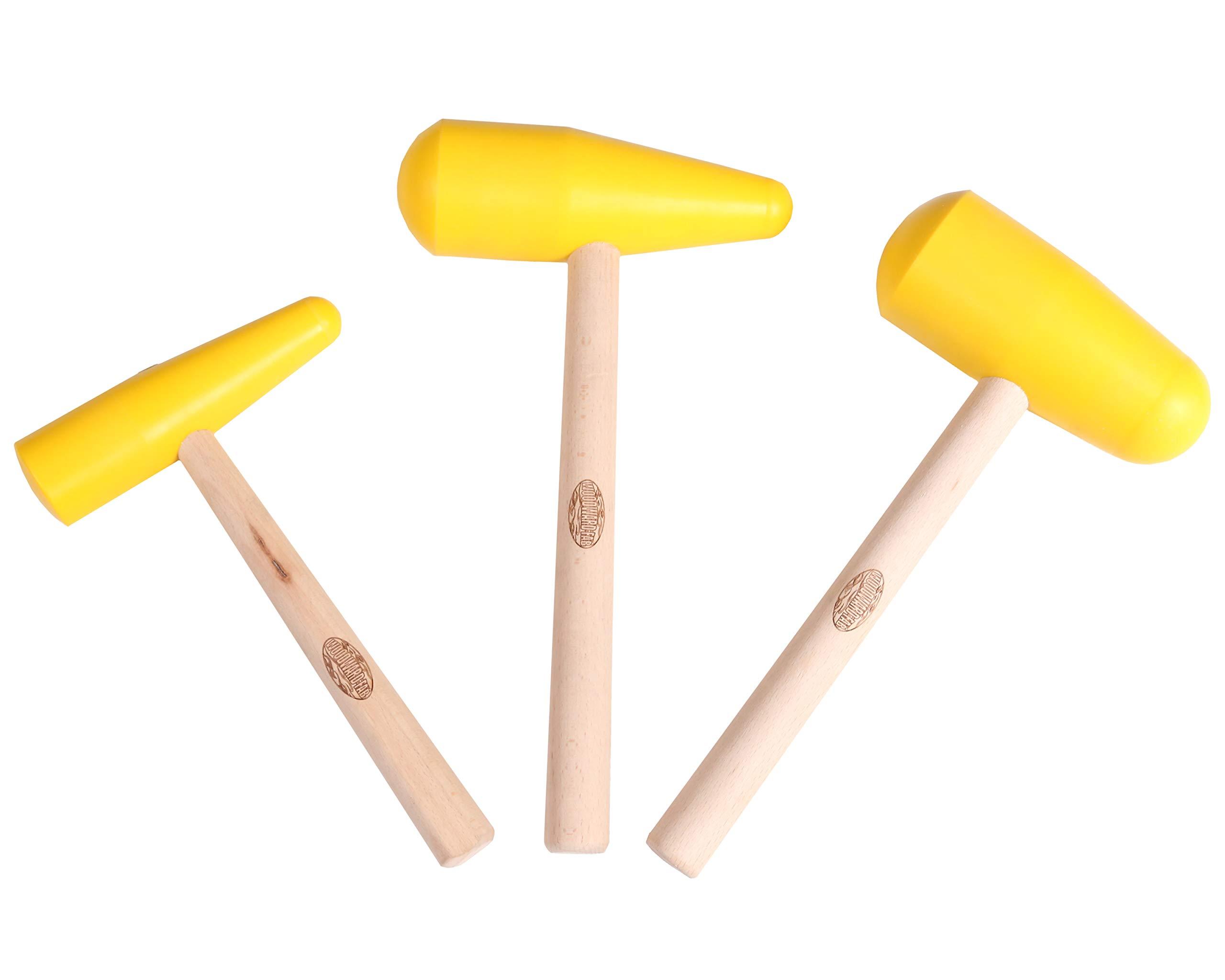 Woodward-Fab Nylon Bossing Mallet 3 pieces set
