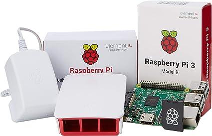 Raspberry Pi 3 Official Desktop Starter Kit (16GB, White): Amazon.es: Informática